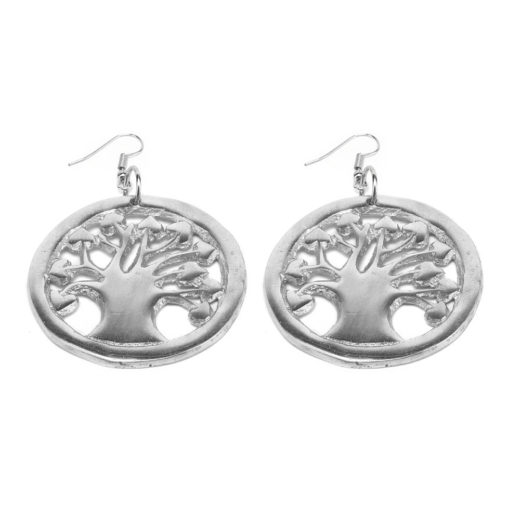 EARRINGS ARBRE DE VIE COEUR