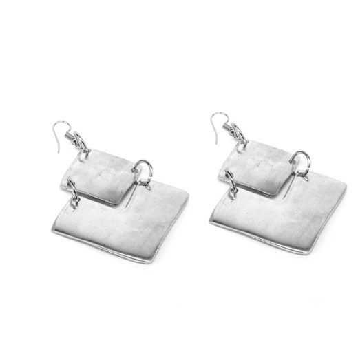 EARRINGS LOSANGE E GRAND V