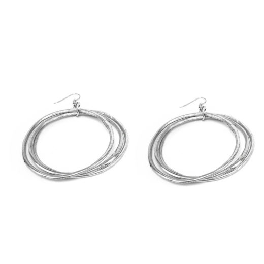 EARRINGS 3 RONDE UNI