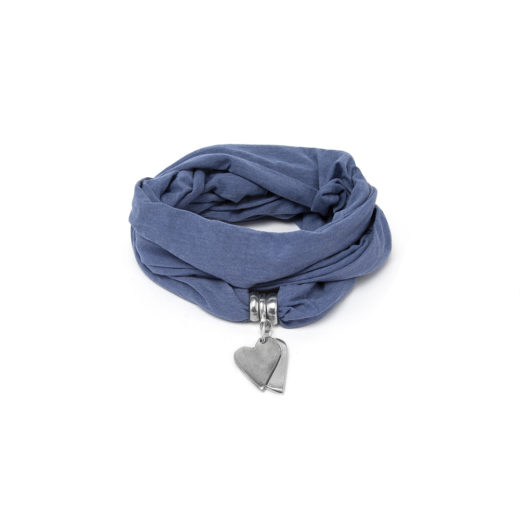 JEWELRY SCARF JEANS 2 COEUR