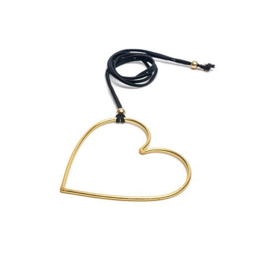 PENDANT WIRE SHAPE BIG HEART