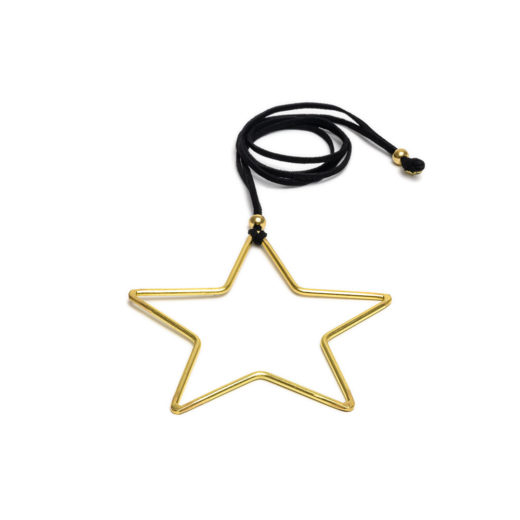 BIG SHAPE STAR PENDANT