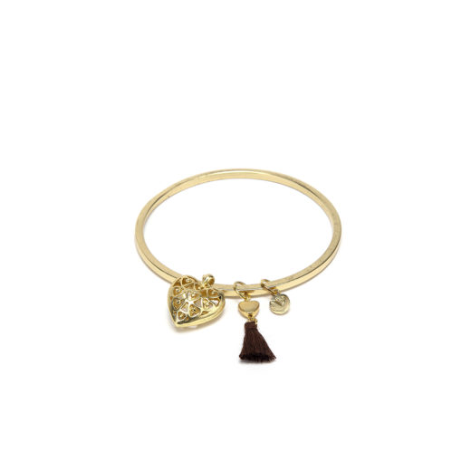 BANGLE CUORE FORATO