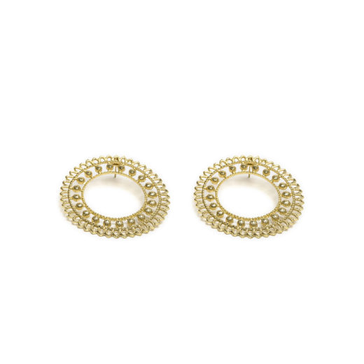 BIG CIRCLE DUBAI EARRING