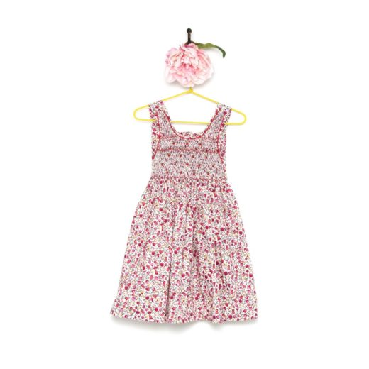 DRESS TRILLY PRINT 3 honey