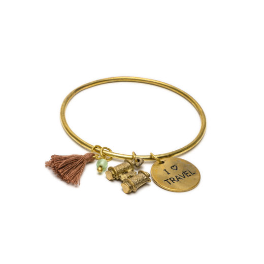 BRACCIALE BANGLE TRAVEL/BINOCOLO