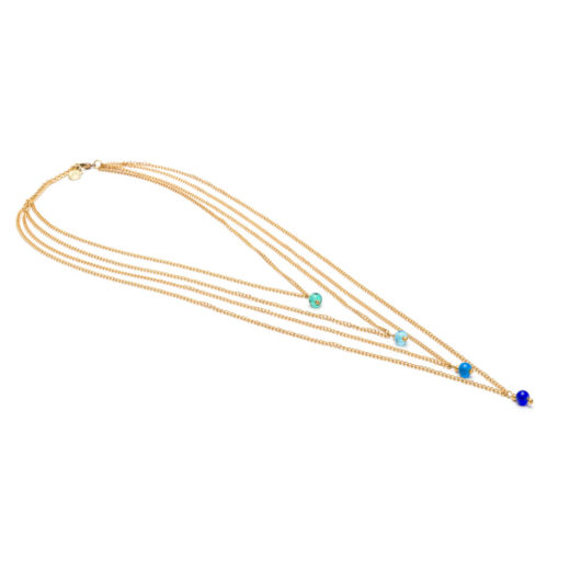 NECKLACE STRINGS 4 DROPS
