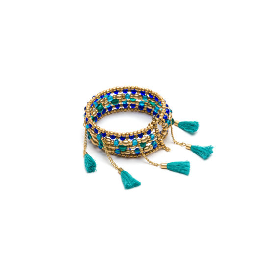 BANGLE WRAP WITH TASSEL