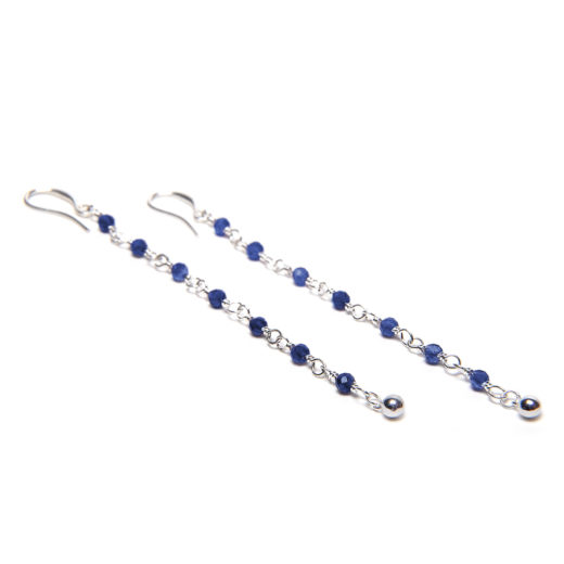 LINE GEMS EARRINGS