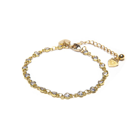 CHAIN MINI ZINCONS BRACELET