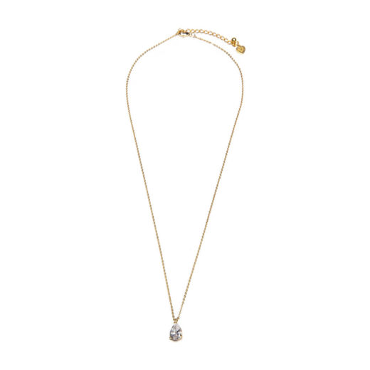 DROP SHORT SOLITAIRE NECKLACE