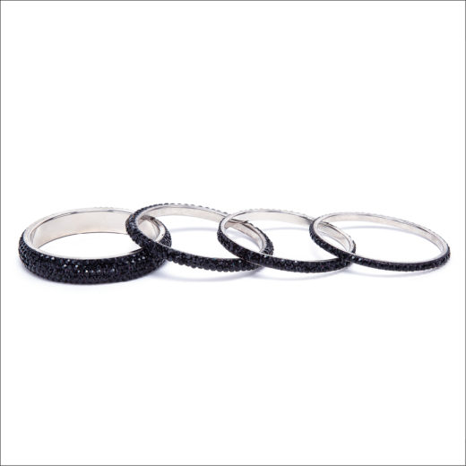 BRACCIALE BANGLE NERO