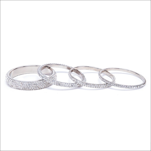 BRACCIALE BANGLE CRISTALLO