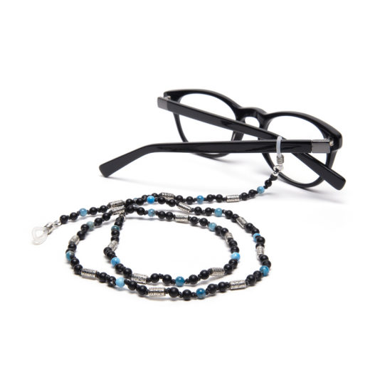 GLASSES STRING BLUE STONES