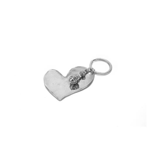 KEYCHAINS BIG SKETCH HEART