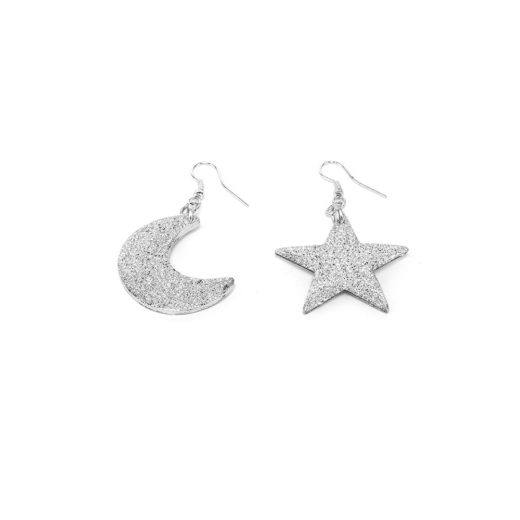 MOON/STAR EARRING