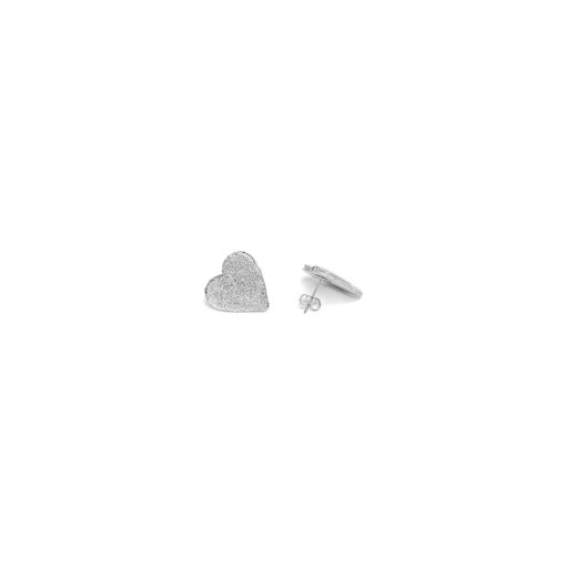 MEDIUM HEART EARRING