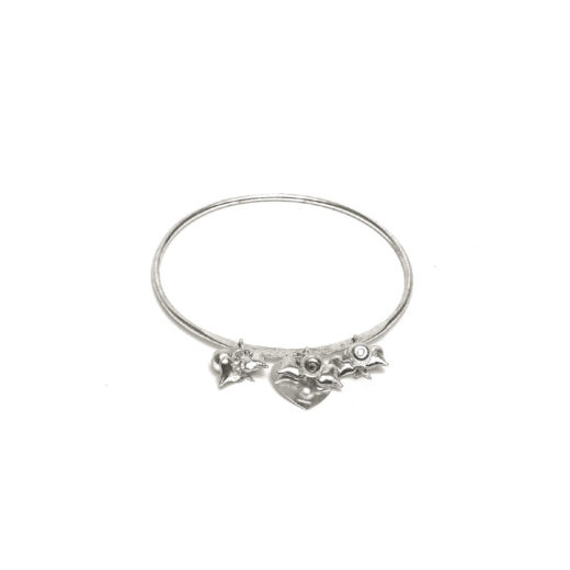 BRACCIALI BANGLE MINI PENDENTI