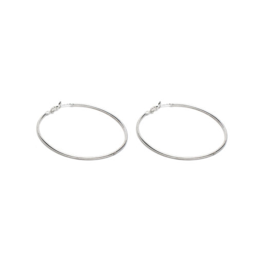 OVERSIZE HOOP EARRINGS
