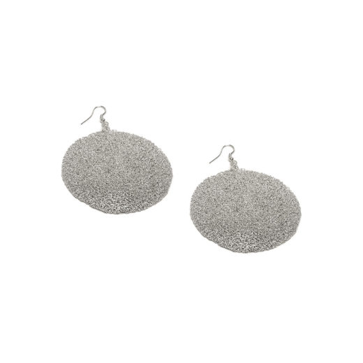 MICROFILE PLATE EARRINGS