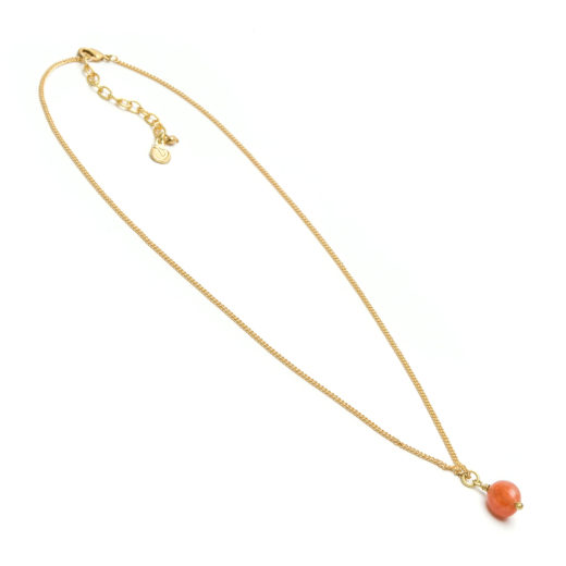 PENDANT NECKLACE CARNELIAN