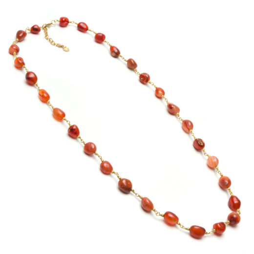 CARNELIAN STONES NECKLACE