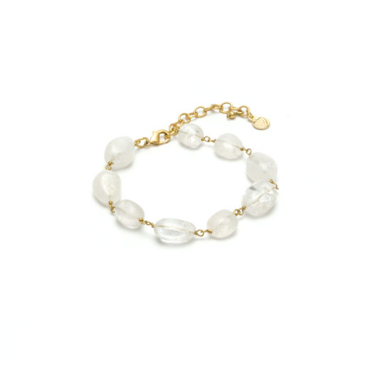 CHAIN BRACELET ROCK CRYSTAL