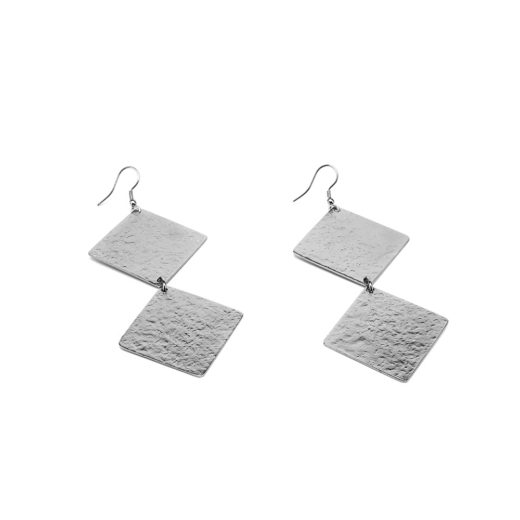 2 RHOMBUS EARRINGS