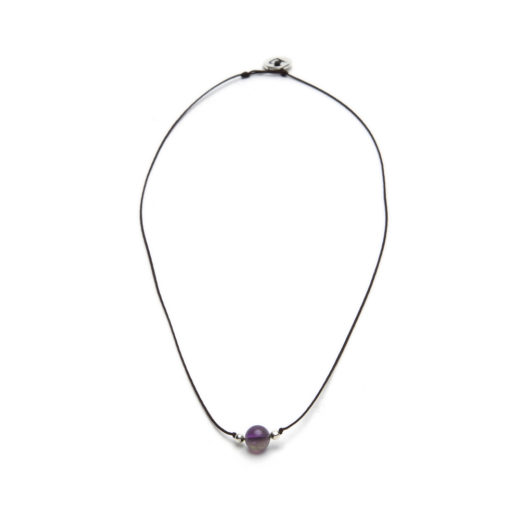 STRING NECKLACE AMETHYST