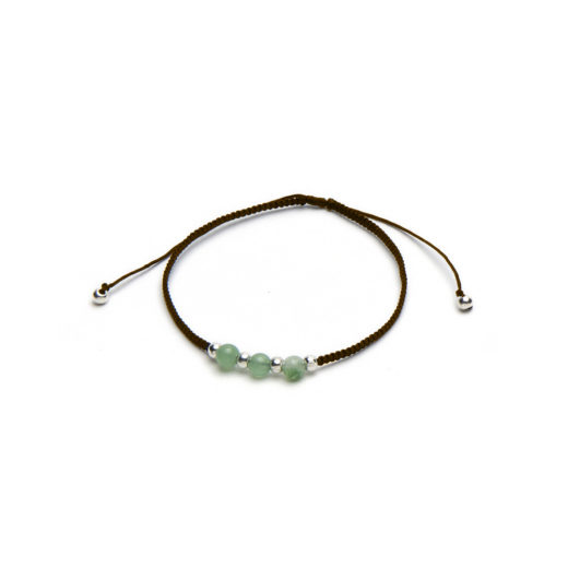 ADJUSTABLE BRACELET GREEN TOURMALINE