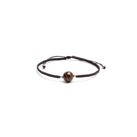 STRING BRACELET TIGER'S EYE
