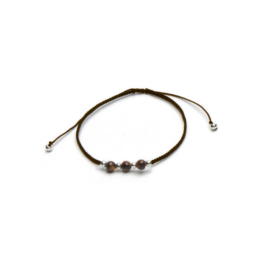 ADJUSTABLE BRACELET TIGER EYE