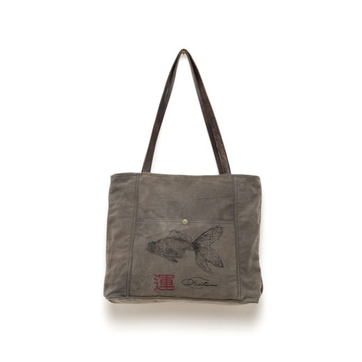 BORSA SHOPPER FISH