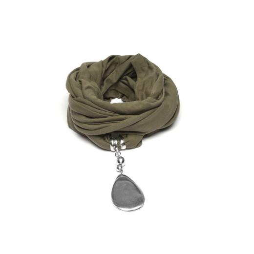 Jewelry Scarf KAKI