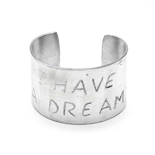 BRACELET BAND I HAVE A DREAM