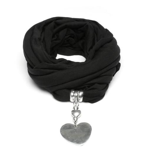 Jewelry Scarf BLACK