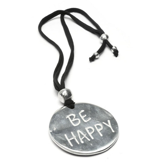 PENDENTE PLACQUE BE HAPPY