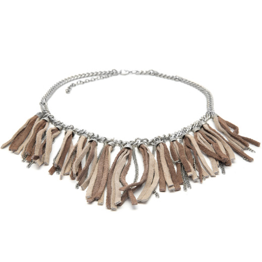 NECKLACE CHAIN FRINGE
