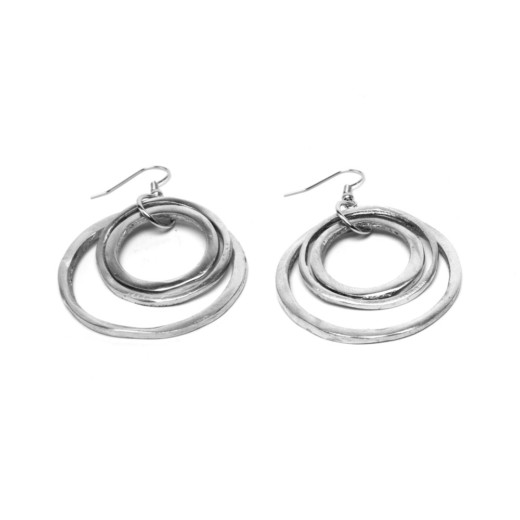 EARRINGS 3 RONDE FINE PM