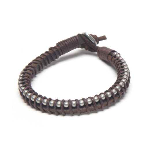 BRACELET LEATHER MAN