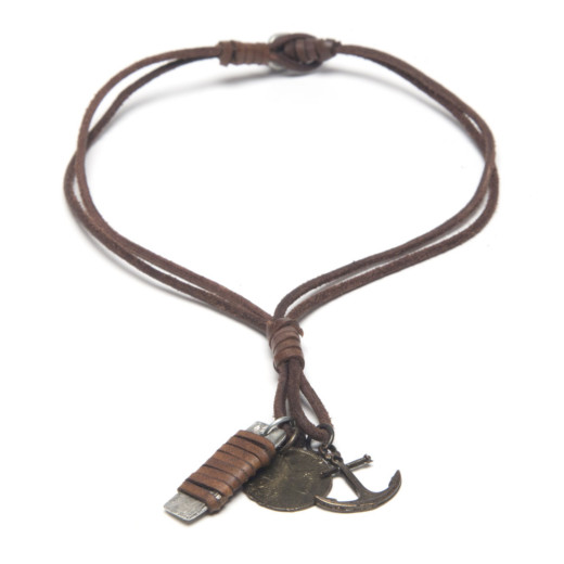NECKLACE LEATHER MAN