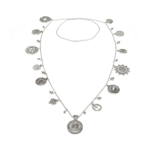 COLLANA CIONDOLI ARABESQUE