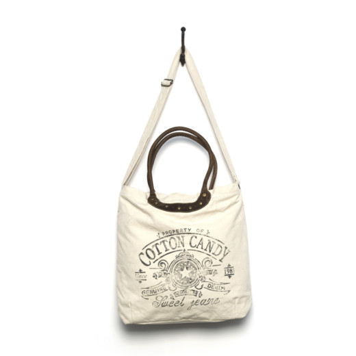 BORSA TRACOLLA COTTON