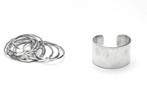 gioielli in alluminio